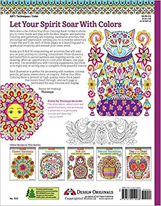 50OFF Follow Your Bliss Coloring Book Activity