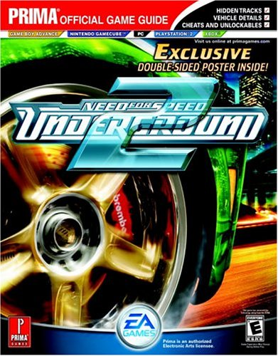 Price comparison product image Need For Speed: Underground 2 (Prima Official Game Guide)