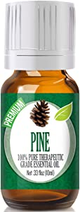 Pine Essential Oil - 100% Pure Therapeutic Grade Pine Oil - 10ml