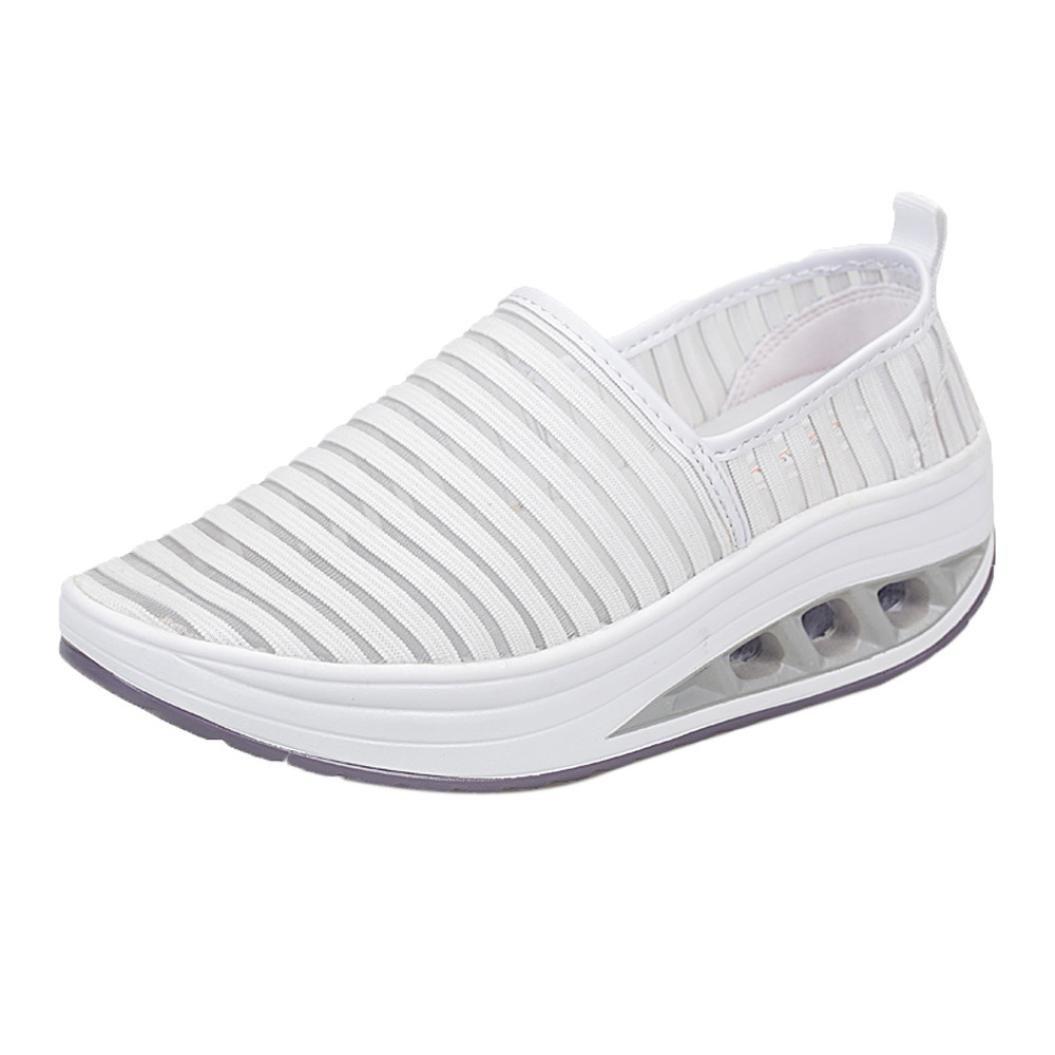 [IEason-shoes] レディース B07F2XLDQD ホワイト 5 B(M) US