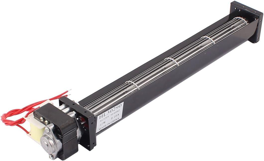 sourcing map Sourcingmap® CA 220V 1,4 m3/min de Flujo Cruzado Ventilador de refrigeración del Cambiador de Calor Enfriador Amplificador