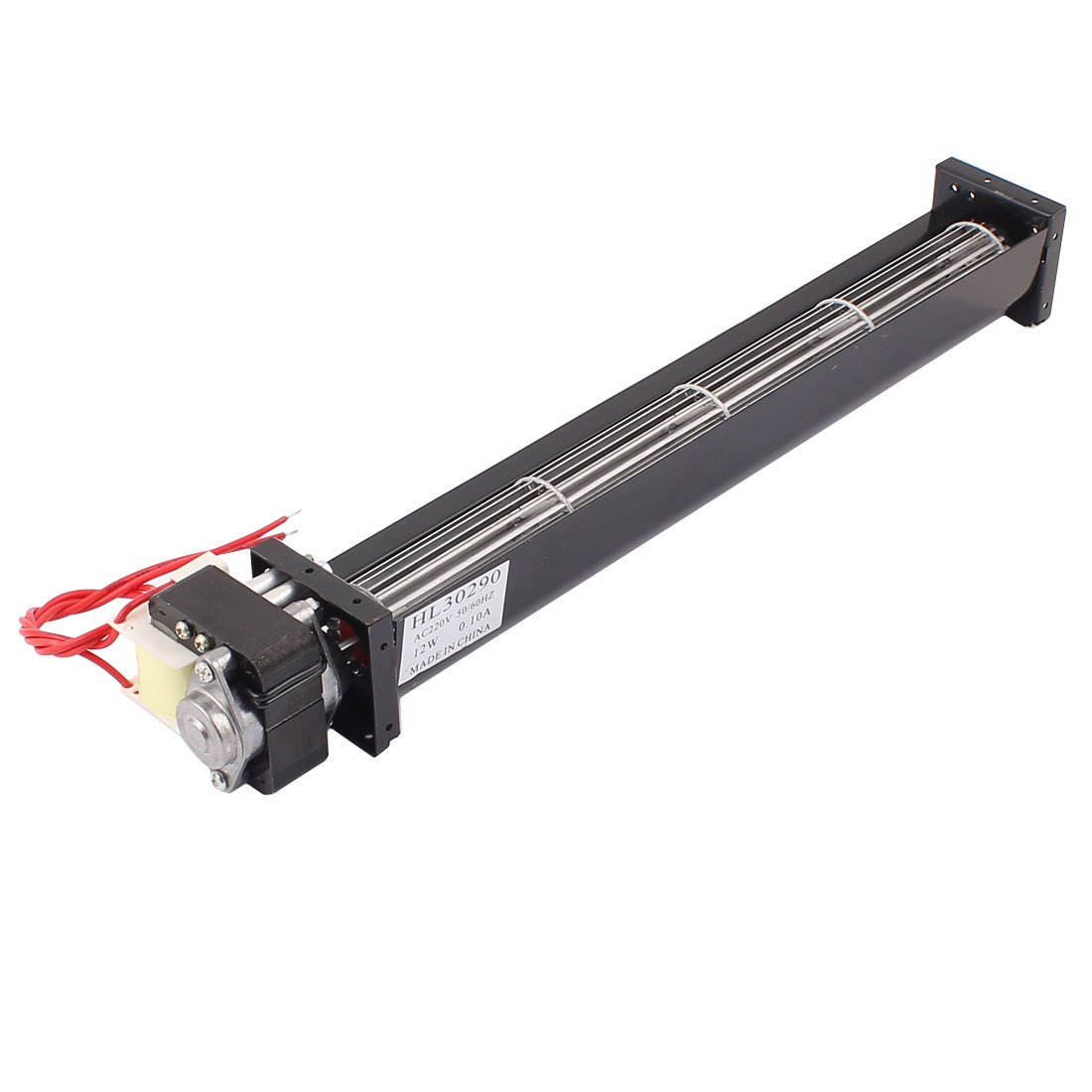 sourcingmap® AC 220V 1.4 m3/min di flusso trasversale della ventola di raffreddamento dello scambiatore di calore dell'amplificatore sourcing map a15102200ux0133