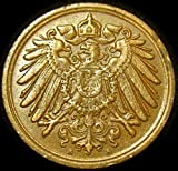 German Empire 1913A Pfennig Coin