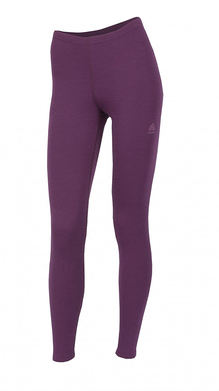 Aclima WarmWool Damens& 039;s Long Pants - grape wine