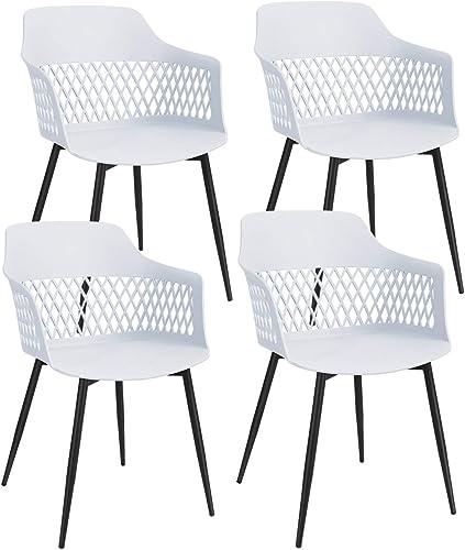 Giantex Set of 4 Modern Dining Chair