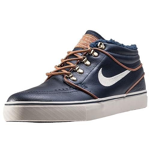best service 87036 29617 Nike SB Zoom Stefan Janoski Mid PR Skateboarding Shoe (13)