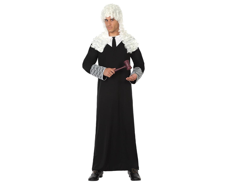 Atosa - 17494 - Disfraz Juez- Talla M-L - Color Negro para Hombre Adulto: Amazon.es: Juguetes y juegos