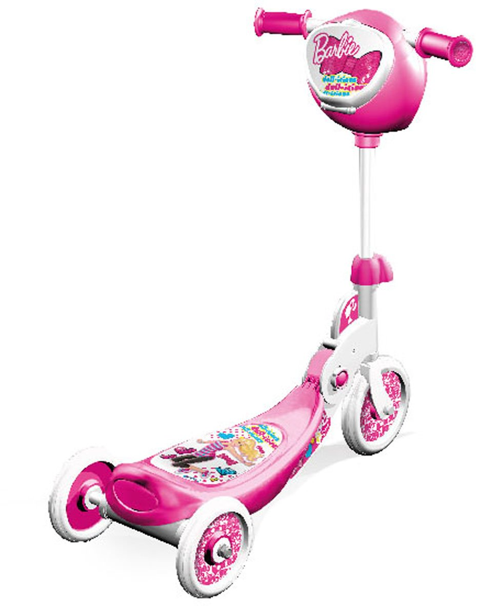 Barbie - Patinete 3 ruedas plegable (Mondo 18274): Amazon.es ...