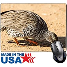 """MSD Natural Rubber Mouse Pad/Mat with Stitched Edges 9.8"""" x 7.9"""" natal francolin IMAGE 19836200"""