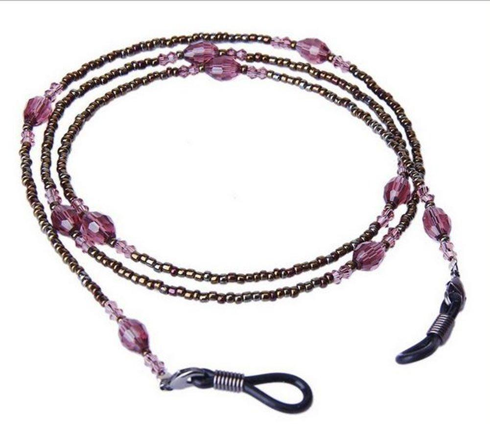 Vi.yo Porte-Lunettes Bracelet à Perles Décoratives Spectacle Chaîne Cordon Lunettes  de Soleil 4bfd0329afdd