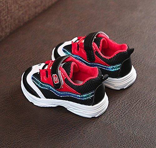 Niños Antideslizantes zarlle Niña Sneakers Transpirables Deportivas Malla Para Cumpleaños Zapatillas Casual Niño Negro A Zapatos Niña Y Bebé Regalos Niñas De xa4qIqvO