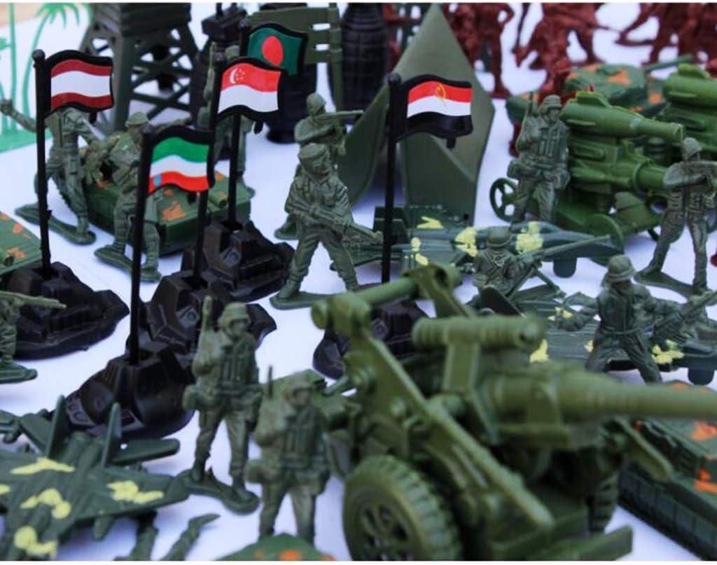Army combat chiffres complet avec armes /& boussole jouets pour enfants plus de 3