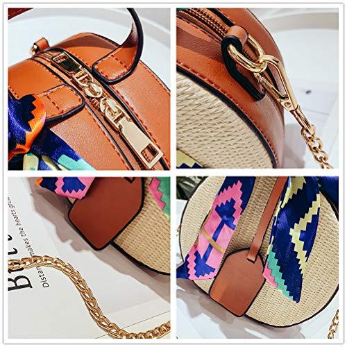 Summer Beach Bag Birthday Bag Fashion Women Women Gift Bag Tote Anniversary Stylish Crossbody Handmade Girls Straw wxT8RRE15q