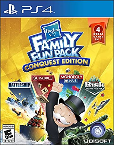 Hasbro Family Fun Pack Conquest Edition - PlayStation 4 - Played Monopoly