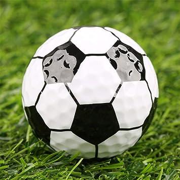 121d78087b054 Ocamo Bolas de Golf de Goma de la Novedad de Alta Resistencia Bolas de  Juego de Golf fútbol  Amazon.es  Hogar