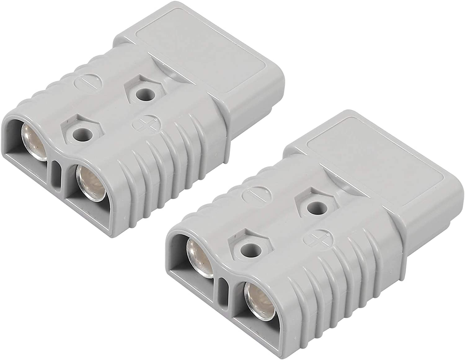 Fugen 2PC Plug Connectors 175A for Anderson Plug Connector 175 Amp Kit 600V 1//0 AWG AC//DC Power Tool