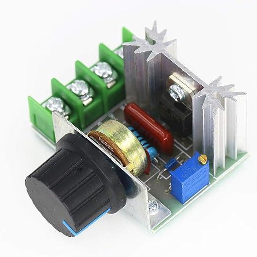 Regulador de voltaje electrónico 2000 W, módulo de ...