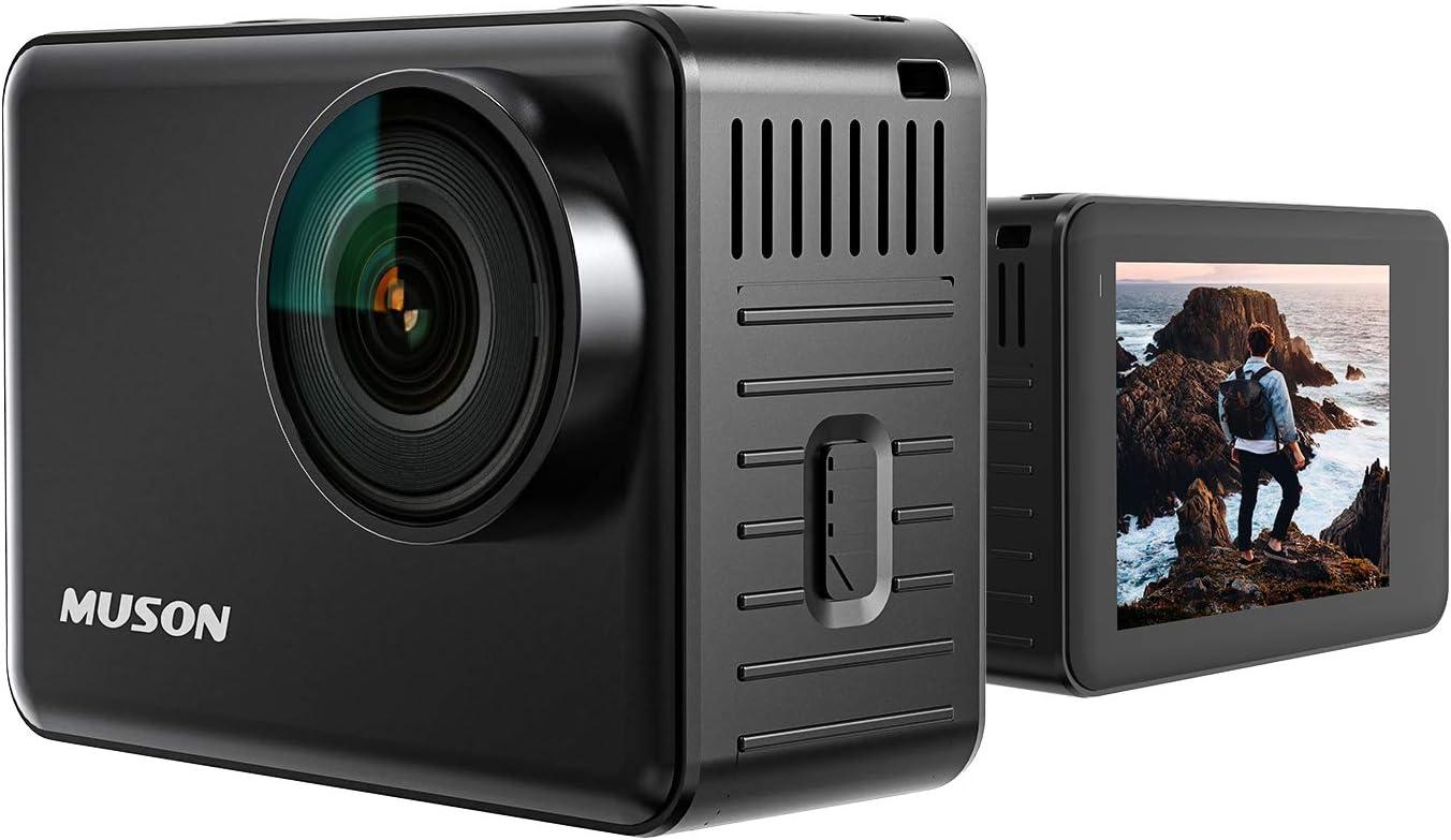 MUSON アクションカメラ 20MP 高画質