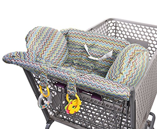 Lil Jumbl Shopping Cart Cover for Baby | Comfortable Design with Easy-Fit Belt