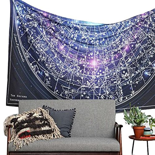 Polyester Tapestry Roundie Mandala Bohemian