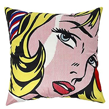 Amazon.com: ogiselestyle Funda de cojín clásico Pop Art de ...