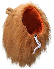 Lion Mane, Adjustable Pet Costume with Ears for Dog