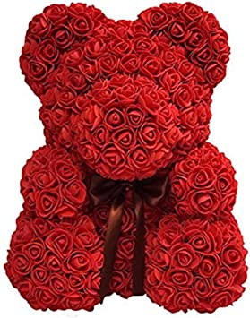 Free Ship Deal Offres Rose Ours En Peluche Mignon Amour Ours