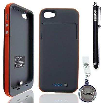 Amazon.com: AQURE 2500 mAh Batería Externa Cargador Backup ...