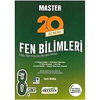 Okyanus Yayınları 8. Sınıf Master 20 Fen Bilimleri Denemesi