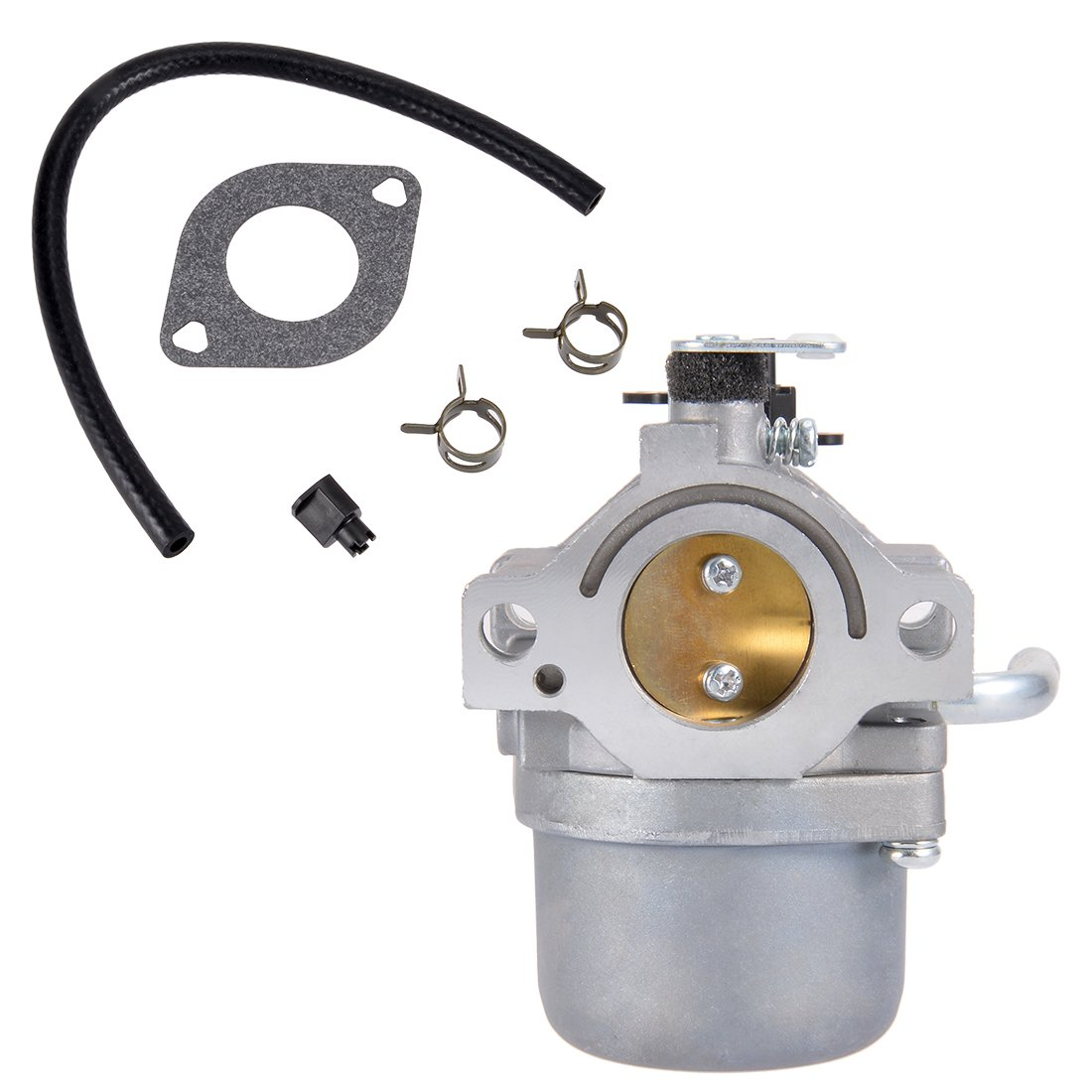 uxcell 593432 Carburetor Carb for Briggs & Stratton 794653 791266 Engine with Gasket Fuel Line