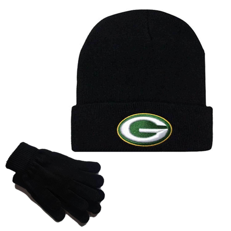 MT-Sports store Football Team Embroidery Logo Winter Fashion Warm Wool Cap