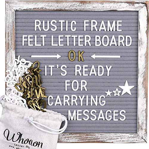 Rustic Graywash Barnwood Frame