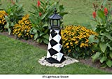 Amish-Made Cape Lookout, NC Replica Lighthouse, 39'' Tall