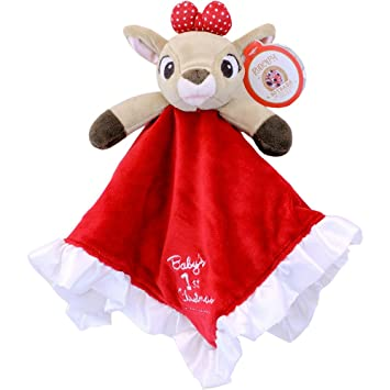 ead5335e07 Amazon.com   Kids Preferred Baby s First Christmas Blanky - Clarice ...