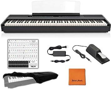 Yamaha P515B teclado digital de piano con 88 teclas con peso ...