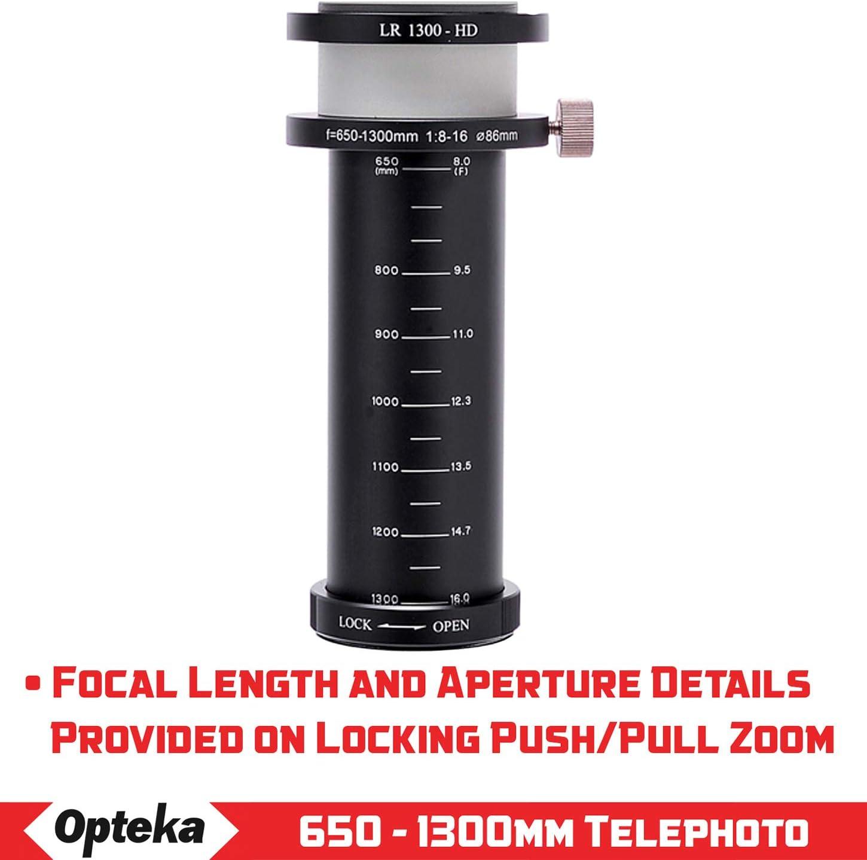 Opteka 650-1300mm Super Telephoto Zoom Lens for Nikon Z-Mount Z7 Z6 and Z50 Mirrorless Digital Cameras