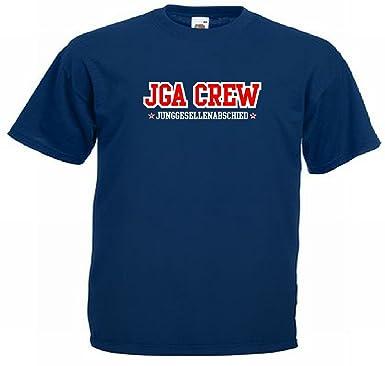 T-Shirt für den Junggesellinnenabschied mit dem Motiv Jga-Crew - Mtläufer,  Größe