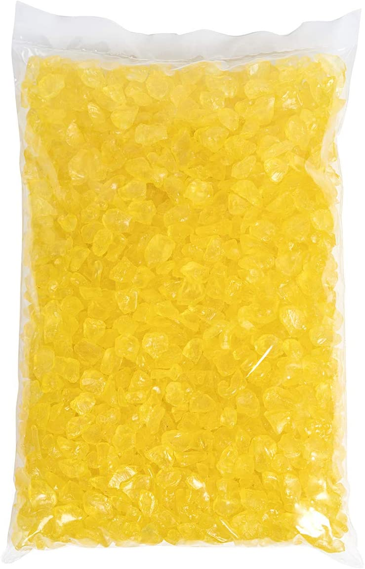 Dekosteine 9-13 mm gelb 5 Kg Eurosand 1 Kg = 1,79EUR