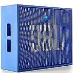 JBL GO by Harman Portable Wireless Bluetooth Speaker with Mic (Blue)