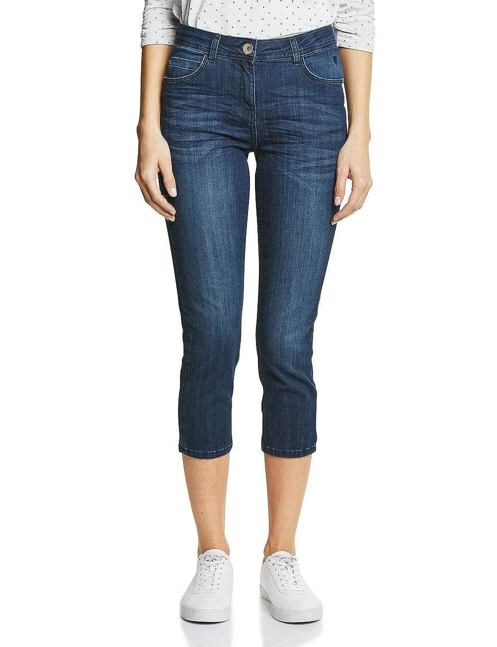 bluee (Mid bluee Wash 10284) Cecil Women's Slim Jeans