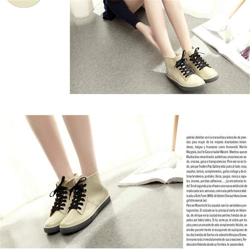 Amazon.com | Gusha Short Tube Water Shoes Womens Waterproof rain Boots | Rain Footwear