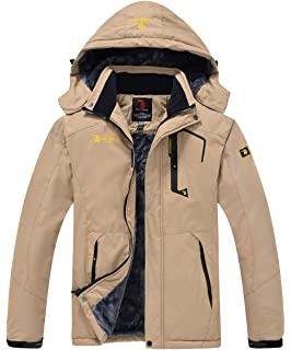 Amazon.com: MAGCOMSEN Mens Winter Coats Warm Fleece Parka ...
