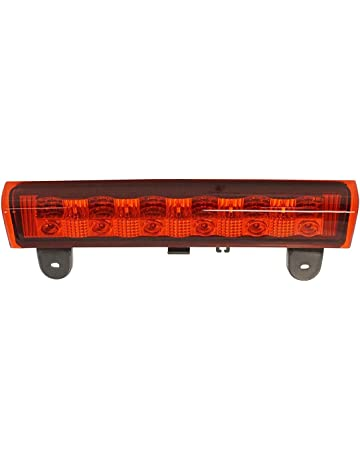 Black Housing Red Lens High Mount Stop Light 3rd Third Red Brake Light for 2000-