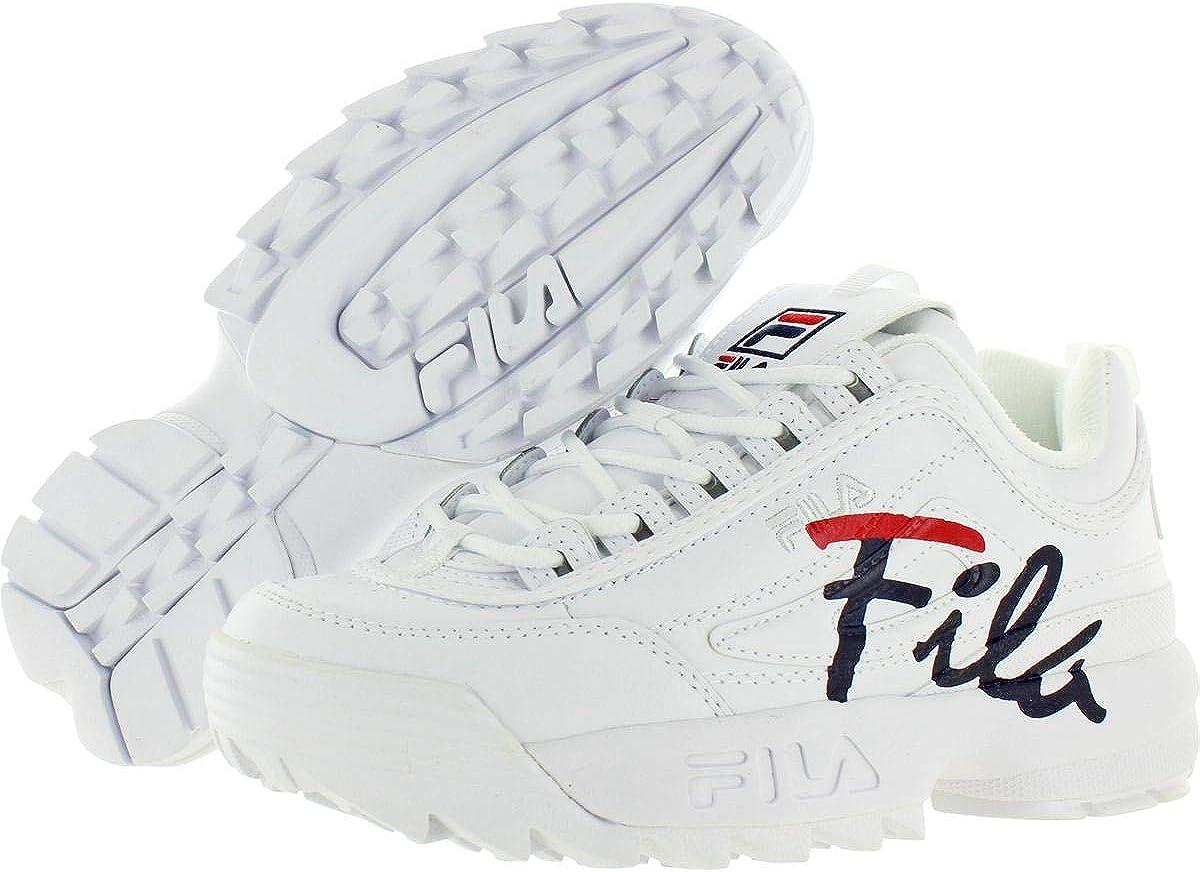 Fila Damen Turnschuh Weiß Kreide
