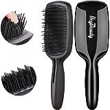 Hair Brush-Magic Detangling Brush, Patented Detangler Bristles-Professional Tangle-free Brush for Natural hairs, Wigs, Extensions by HeyBeauty