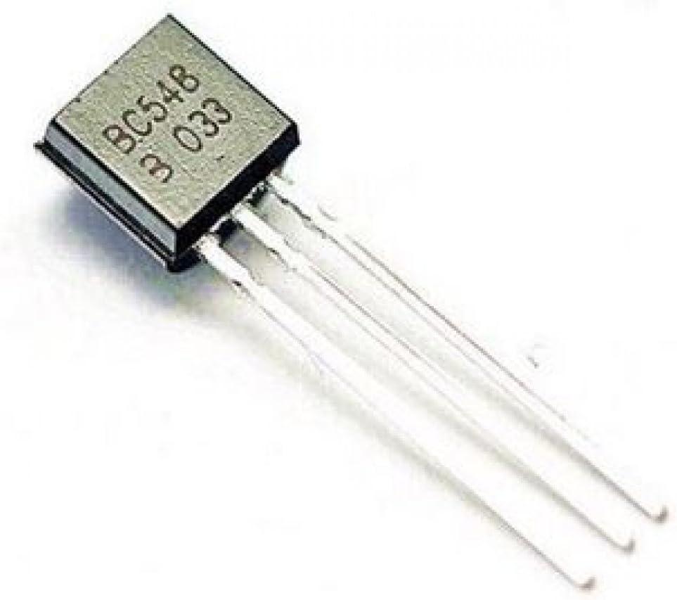 100ma by Tech Express 50Pcs BC548 BC548B PNP TO-92 Transistor 30V