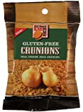 Burgers Bar Crunions - Gluten Free Crispy Fried Onions 1.4 OZ Units (4 Pack). Real Crunch Real Onions
