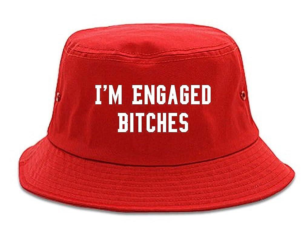 IM Engaged Bitches Bride Bucket Hat 1FIGBULKBH-1379