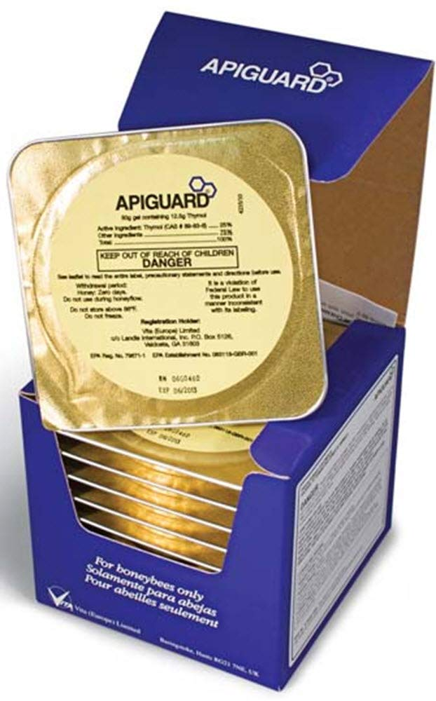 Apiguard 10 Pack for Varroa Mite Control by Vita