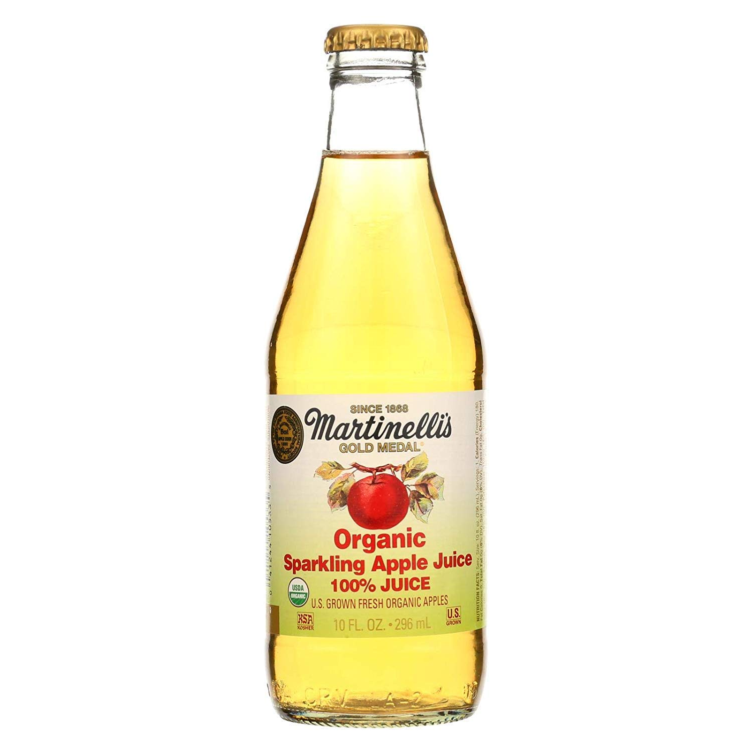 Martinelli S Jucie Og2 Apple Sparkling Pack Of 12 Amazon Com Grocery Gourmet Food
